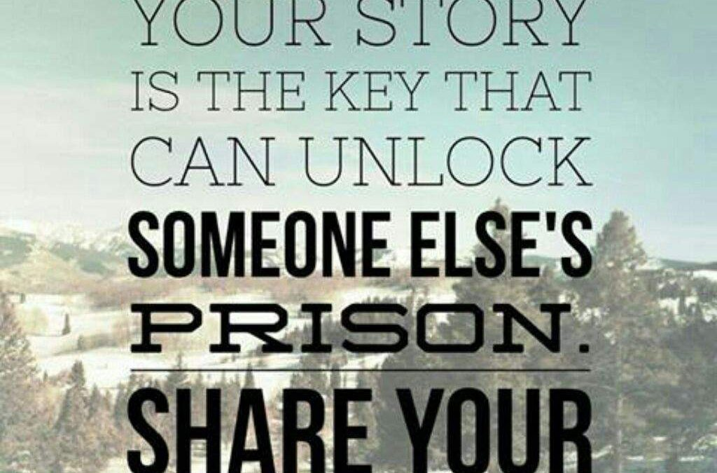 Your Story Sets Others Free